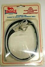 Lonsdale L68 Spare Floor to Ceiling leather adjustable strap belt Boxing ball