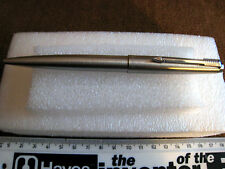 PARKER ENGLAND BALLPOINT PEN + PARKER F REFILL MARKED L.S.USED a001tl72p4