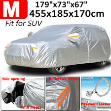 Size M Universal Waterproof SUV Car Cover Scratch Rain Dust Protector Resistant