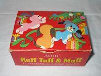 Avon 1968 Ruff Tuff & Muff Soaps