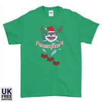 Christmas Baby Shark Doo Doo Doo Family Funny Santa Mens Womens Kids T-Shirt