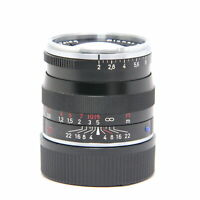 Carl Zeiss Planar T* 50mm F/2 ZM (for Leica M mount) Black #97