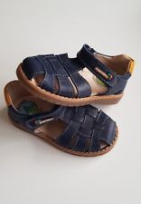 Pablosky Boys 006226 Closed Toe Sandals Blue ( Maya Marino 006226 ) UK 7
