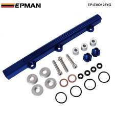 High Flow Fuel Rail Kit Mitsubishi Lancer Evolution EVO 1 2 3 4G63 92-96 BL