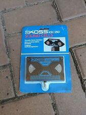 RARE Vintage 80s WALKMAN PORTABLE CASSETTE PLAYER SPEAKER Koss Ksc/250 NICE!!