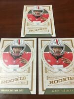 """2019 (THREE) DWAYNE HASKINS  """"ROOKIE OF THE YEAR???"""" LEGACY FOOTBALL RC LOT"""