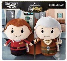 Hallmark Itty Bittys Star Trek II: Wrath of Khan - KIRK & KHAN Plush Bitty Set