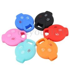 Silicone Remote Key Fob Case Cover For Mercedes Benz Smart Fortwo K Roadster