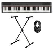 Yamaha P-125B Stage Piano Set 88 Tasten Lautsprecher X-Ständer Kopfhörer Black