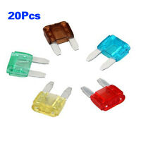 20 pcs Car Motorcycle Mini Fuses Blade Fuse Safety C5C3