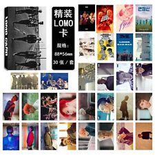 30pcs set Kpop BIGBANG G-DRAGON、T.O.P、TAEYANG、DAESUNG、SEUNGRI Lomo Card