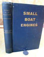 SMALL BOAT ENGINES,1942,Conrad Miller,Illustrated