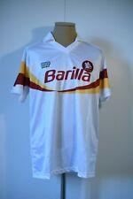 *RARE *NEW AS Roma L NR ennerre Trikot Shirt Maglia Barilla 89 90 Italia Vintage