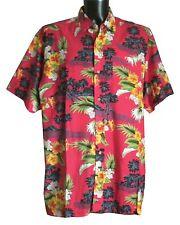 Camicie casual e maglie da uomo floreale in cotone con colletto regolare