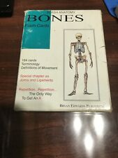 Flash Anatomy Cards- Bones 164 Cards w/ Terms Gently Used in Box Free Shipping