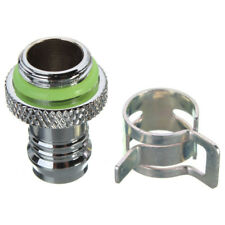 Useful Barb Fitting Water Cooling Radiator For 3/8'' ID Turbing G1/4 Chromed UK