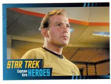 STAR TREK HEROES & VILLAINS THE ORIGINAL SERIES 100-CARD BASE SET