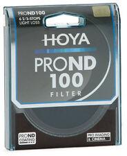 Hoya 58mm 58 mm Pro ND100 NDx100 ACCU-ND Multi-Coated Filter Densidad Neutra