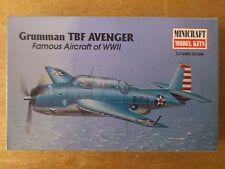 1:144 Minicraft Nr. 14414 Grumman TBF Avenger.  Bausatz.