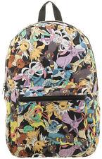 Pokemon Eevee Evolution Characters Backpack School Bag Vaporeon Umbreon Espeon