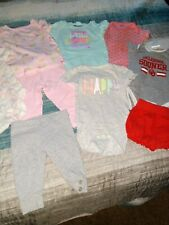 Baby girl clothes 6-9 and 9 months lot