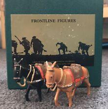 FRONTLINE FIGURES MULES! Limited Edition! Very Nice!