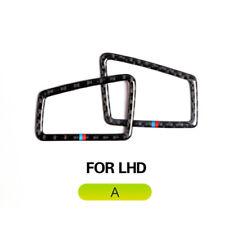 Carbon Fiber Dashboard Air Vent Outer Trim pour BMW 3 Series E90 E92 LHD 9SB 2