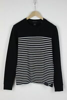 SCOTCH & SODA 139636 Men's MEDIUM Striped Stretchy Pullover / Sweater 31848_GS
