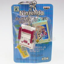 Nintendo Console & Game Figure Key Chain FC Famicom & Super Mario 3 Japan Import
