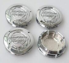 """4 NEW 2005-2010 Chrysler 300 54mm 2 1/8"""" Center Caps FITS: 17"""" X 7"""" WHEELS"""