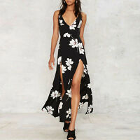 Sexy Womens Boho Long Maxi Dress Evening Ladies Cocktail Party Beach Sun Dresses