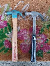 Vintage 2 True Temper Claw Hammers.