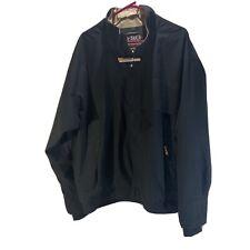 Zero Restriction Mens Tour Lite Traveler Gore Tex Golf Jacket Green Zip Up Xl