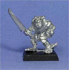 Citadel-SKAVEN-clan Rata Con Espada (a) - Metal-Ejército De Warhammer de fantasía