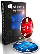 French Windows 10 Pro Recovery Boot CD DVD Disc + Drivers + ISO Download 32 Bit