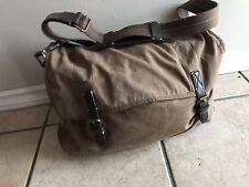 Men's ~ J.Crew Waxed canvas Messenger Bag Excellent Condition