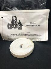 "WILDEN PUMP Replacement 1/2"" Teflon Gasket Kit for M2 M4 M8 Pumps"