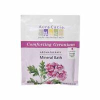 Mineral Bath Comforting Geranium 2.5 Oz  by Aura Cacia