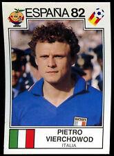 Espana 82 Pietro Vierchowod (Italia) #133 World Cup Story Panini Sticker (C350)