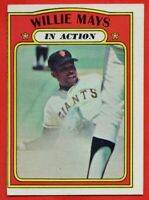 1972 Topps #50 Willie Mays EX-EX+ HOF San Francisco Giants FREE SHIPPING