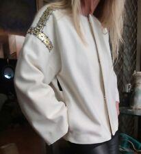 "Sass & Bide ""Dance the Breeze"" Embellished Boxy Jacket sz 40 RRP $690"