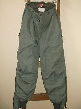 Vintage~USAF F-1B Extreme Cold Weather ECW Trousers~GREEN~Flight Pants~Size 30
