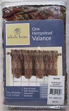"""ONE Sears Whole Home Window Hempstead  Valance 54"""" * 20"""""""
