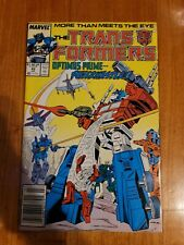 Transformers #42 Comic Book Marvel. 1st Print. Free Shipping.Very Good Condition