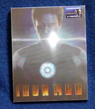 Iron Man - Blufans (blu ray) Steelbook - Lenticular Slipcase