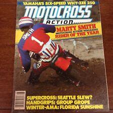 MOTOCROSS ACTION JUNE 1978 MARTY SMITH ROY AWARD WINTER NATIONALS YZ250E VINTAGE
