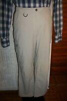 Pantalon de randonnée polyamide beige MC KINLEY 46FR XL 18UK braguette zip TA26