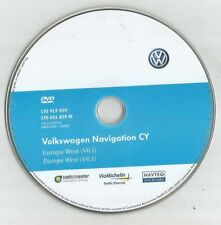 ORIGINAL VW RNS510 RNS850 SKODA COLUMBUS NAVIGATION DISC DVD SAT NAV MAP V6.1