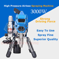 3000W High Pressure Airless Paint Spraying Machine Electric Sprayer Gun 220V
