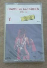Cassette K7 Tape CHANSONS GAILLARDES Vol.4 VALMY France 777 SEALED